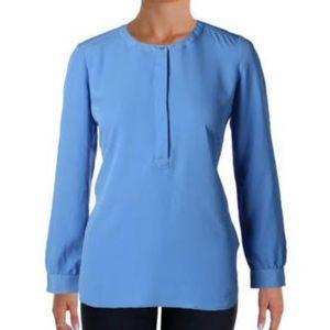 FINAL SALE NWT NYDJ Long Sleeve Henley Tunic XS